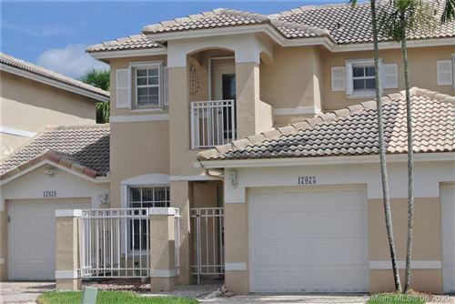 Photo of Listing MLS a10858710 in 17075 NW 22nd St Pembroke Pines FL 33028