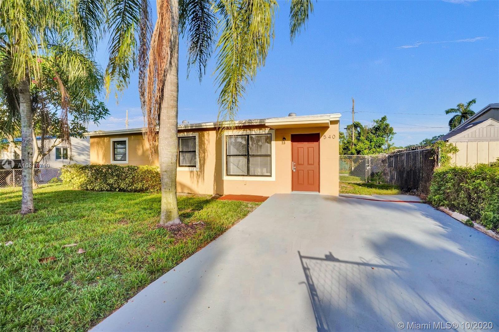 540 N 68th Ter, Hollywood, FL 33024 - #: A10876710