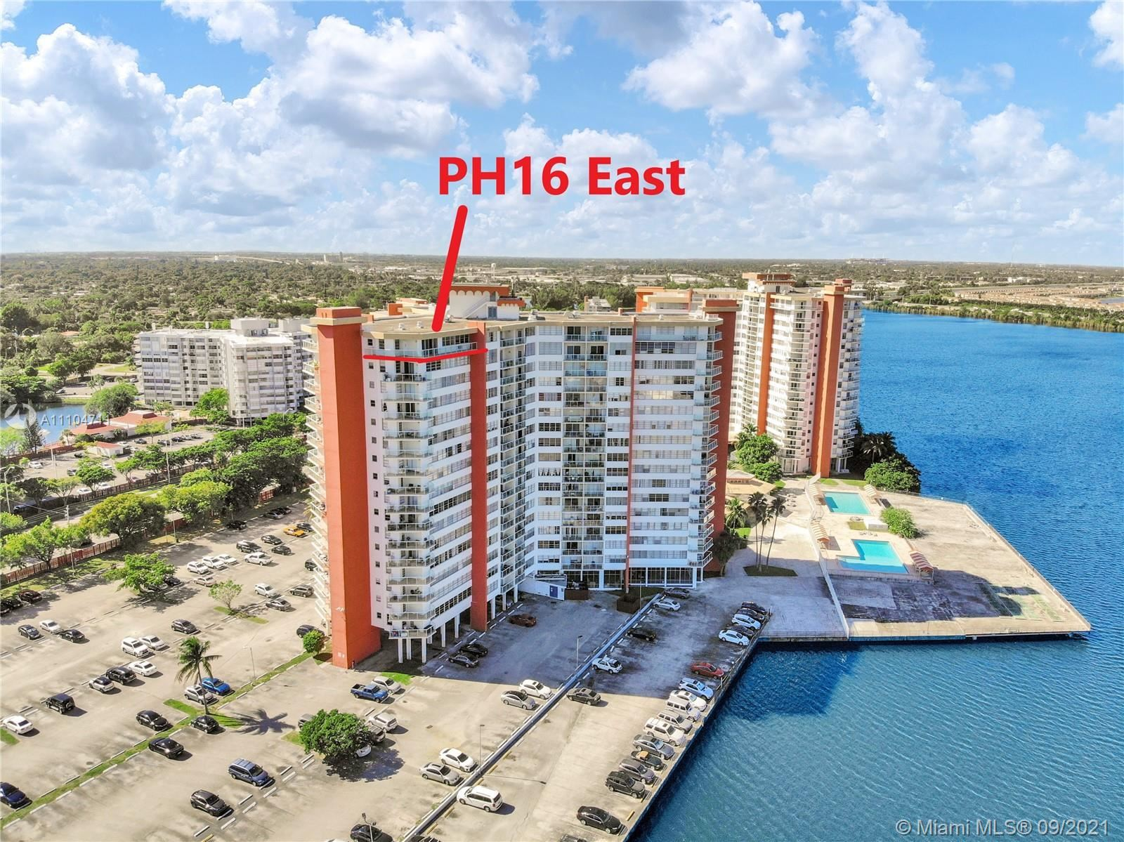 1351 NE Miami Gardens Dr #PH16E, Miami, FL 33179 - #: A11104711