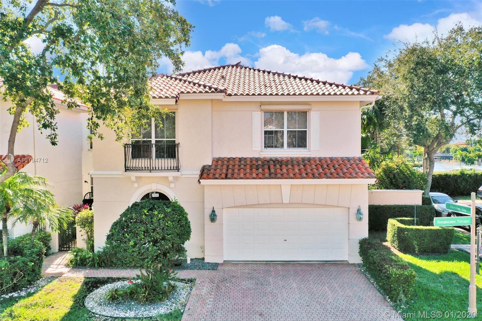 1593 Breakwater Ter, Hollywood, FL 33019 - #: A10794712