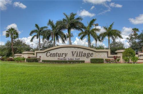 Photo of 13705 SW 12th St #405B, Pembroke Pines, FL 33027 (MLS # A11098714)