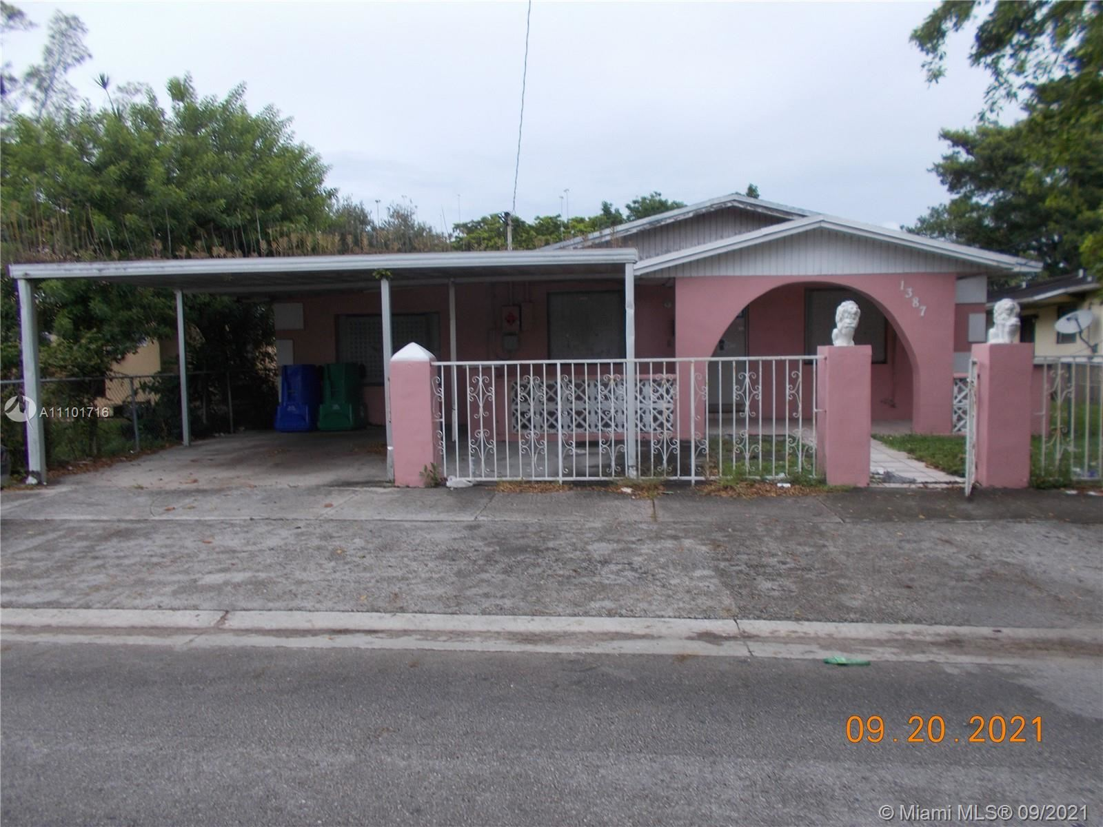 1387 NW 58th St, Miami, FL 33142 - #: A11101716