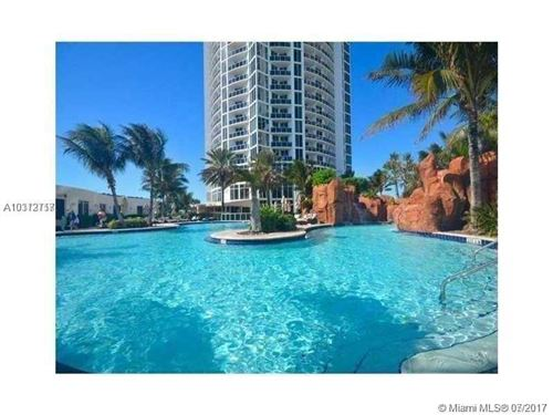 Photo of 18001 Collins Ave #718, Sunny Isles Beach, FL 33160 (MLS # A10312717)