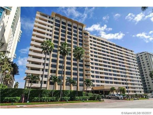 Photo of 5005 Collins Ave #1202, Miami Beach, FL 33140 (MLS # A10963717)