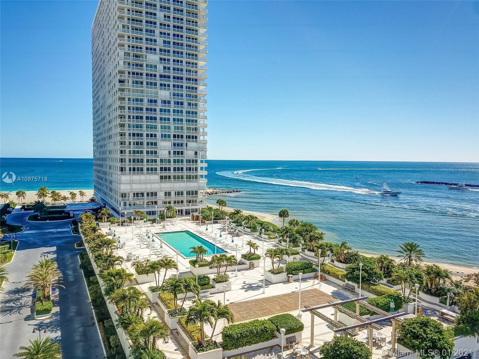 2200 S Ocean Ln #1008, Fort Lauderdale, FL 33316 - #: A10975718