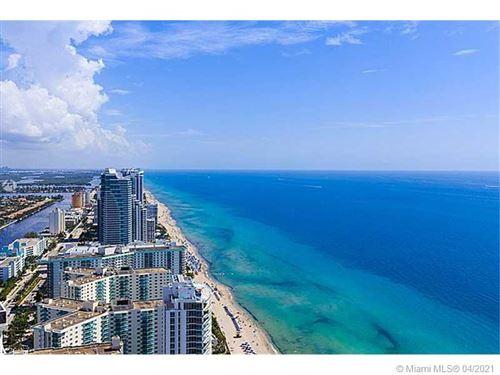 Photo of 1830 S Ocean Dr #4910, Hallandale Beach, FL 33009 (MLS # A11031719)