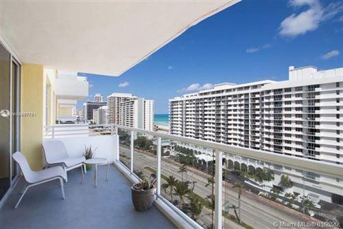 Photo of 5600 Collins Ave #14Y, Miami Beach, FL 33140 (MLS # A10807721)