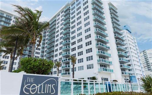 Photo of 6917 Collins Ave #1611, Miami Beach, FL 33141 (MLS # A10889725)