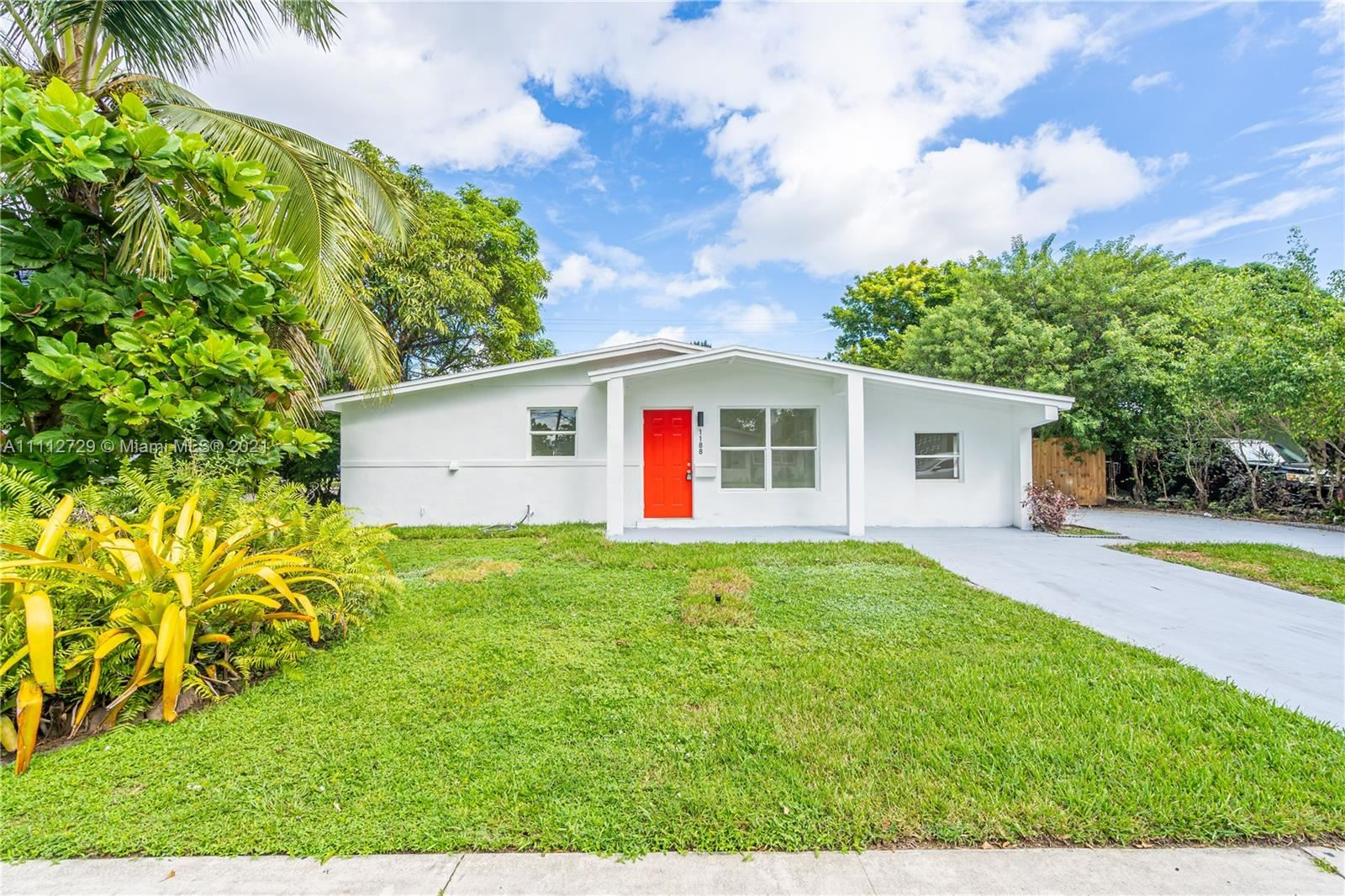Photo of 1188 NW 44th Ave, Lauderhill, FL 33313 (MLS # A11112729)