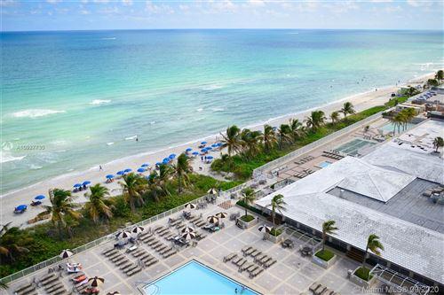 Photo of 1950 S Ocean Dr #12L, Hallandale Beach, FL 33009 (MLS # A10927730)