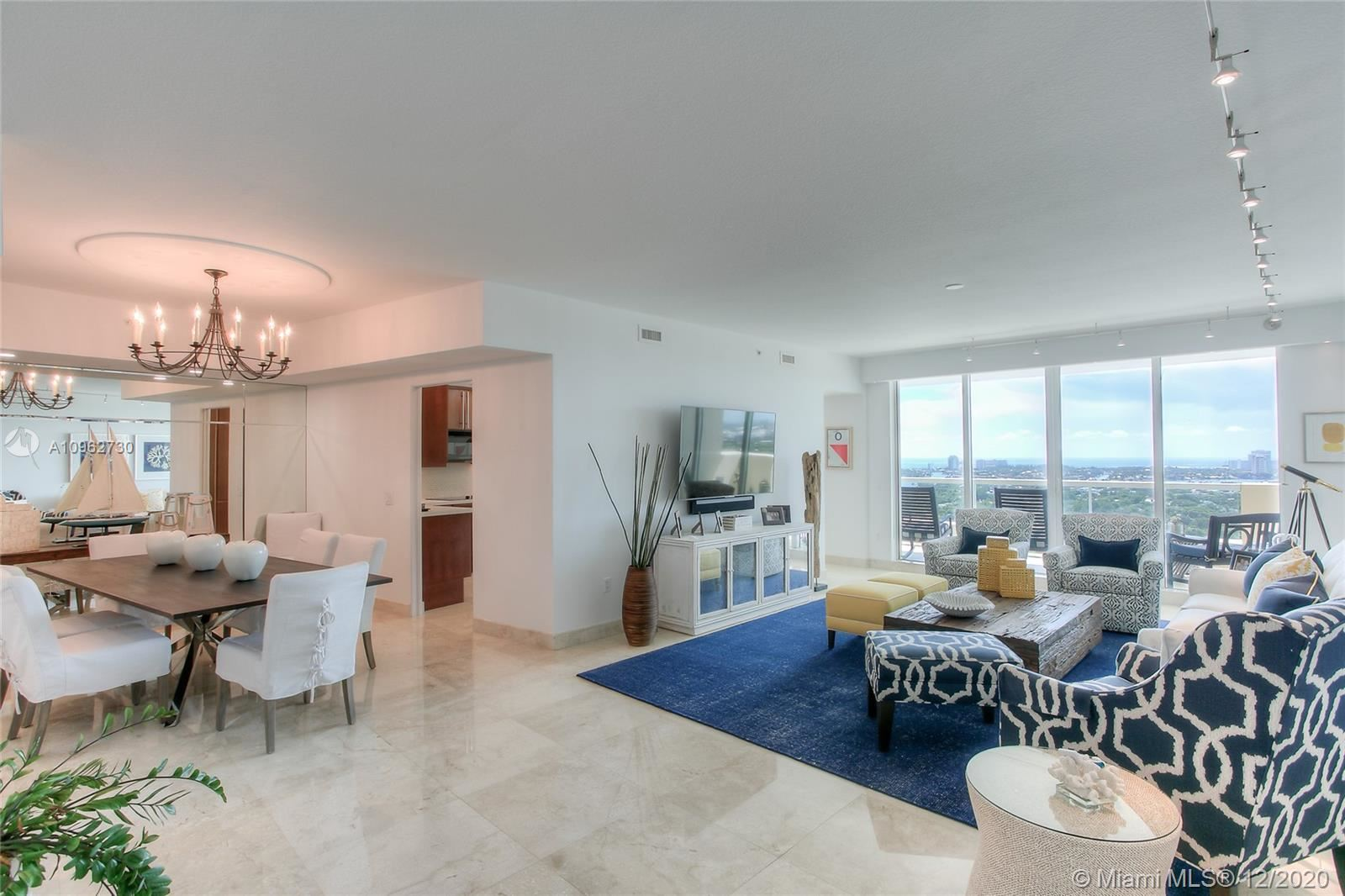 Photo of 411 N New River Dr E #2704, Fort Lauderdale, FL 33301 (MLS # A10962730)