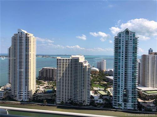 Photo of 335 S Biscayne Blvd #3507, Miami, FL 33131 (MLS # A10928733)