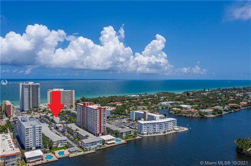 Photo of 3131 S Ocean Dr #110, Hallandale Beach, FL 33009 (MLS # A11110733)