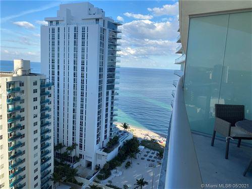 Photo of 4111 S Ocean Dr #1410, Hallandale Beach, FL 33019 (MLS # A11036735)