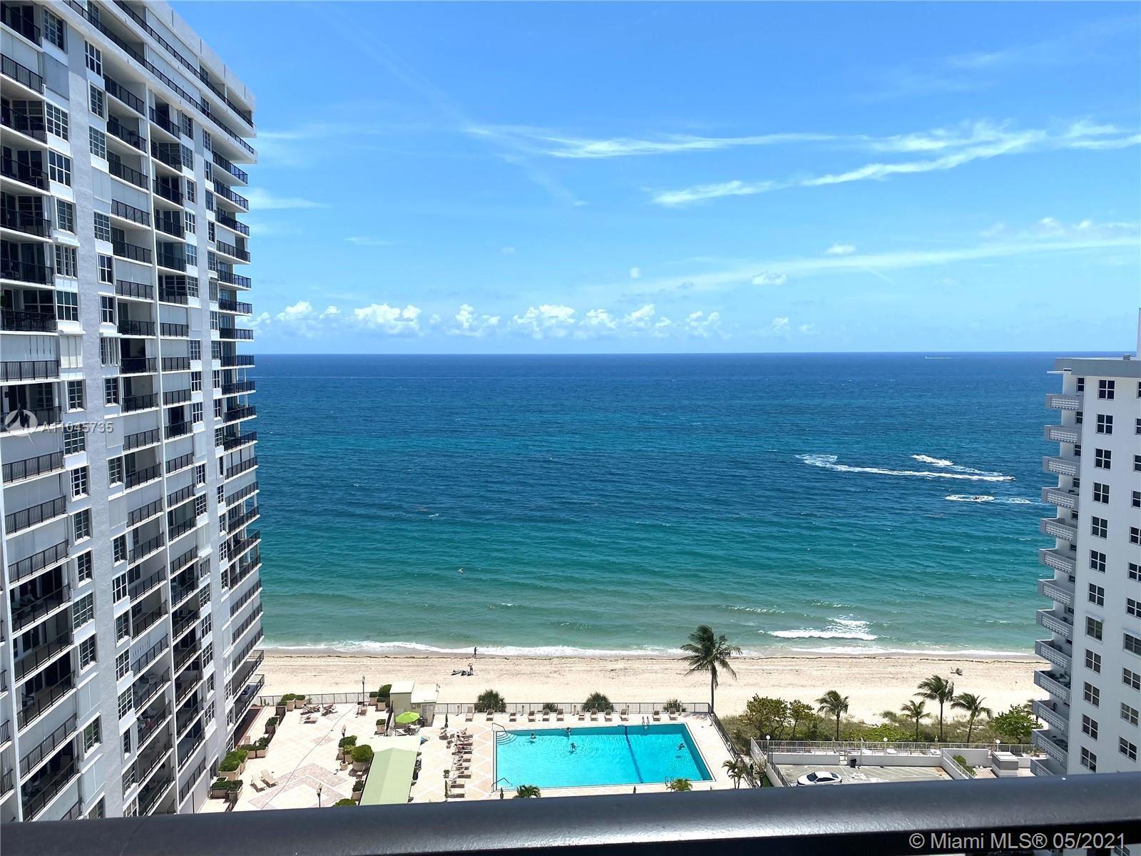 Photo of 4280 Galt Ocean Dr #18D, Fort Lauderdale, FL 33308 (MLS # A11045735)