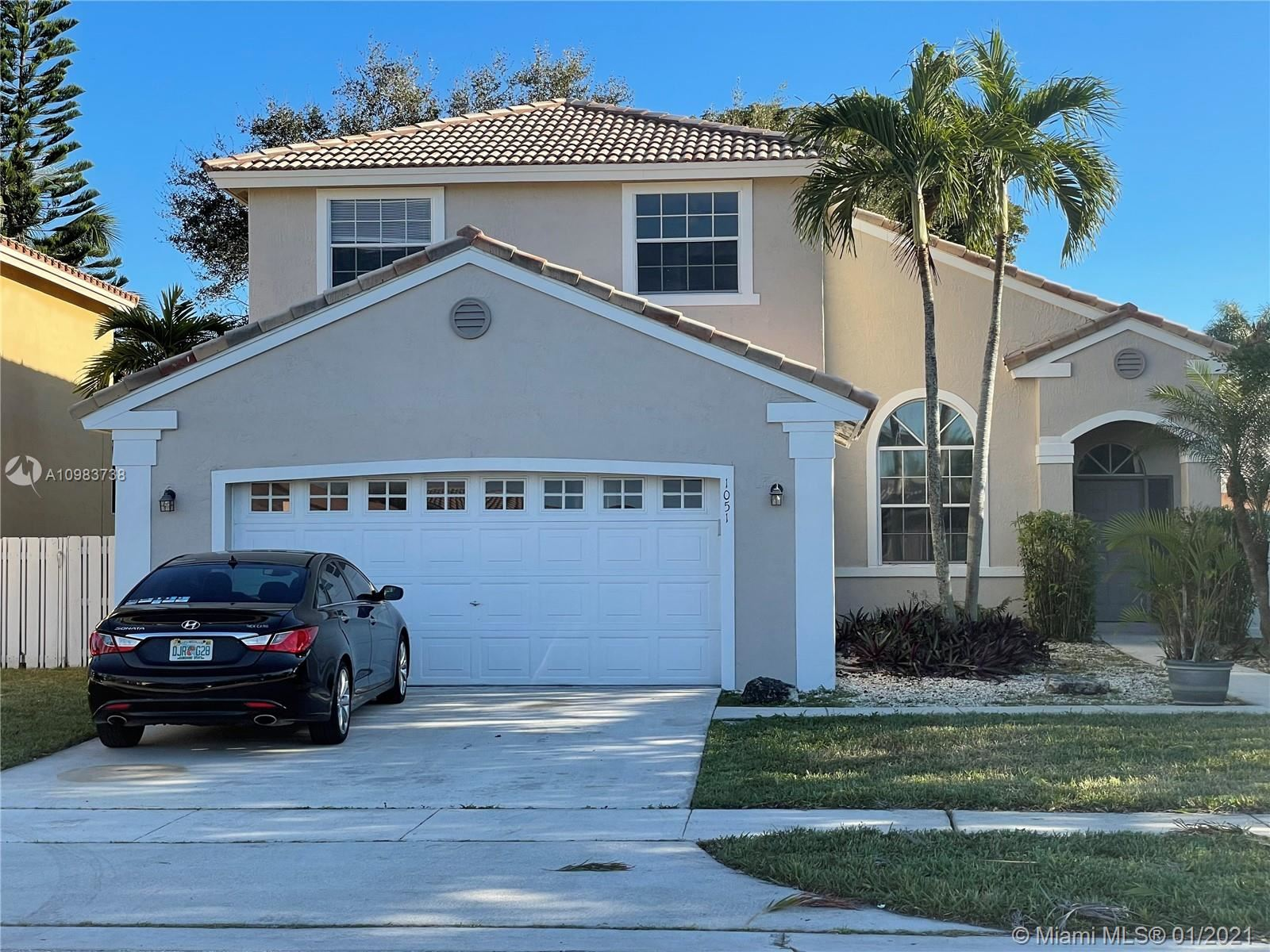 1051 NW 190th Ave, Pembroke Pines, FL 33029 - #: A10983738