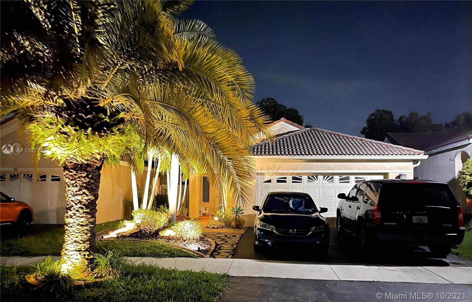 515 Talavera Rd, Weston, FL 33326 - #: A11107742
