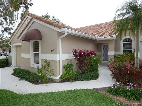 Photo of 2301 Heather Run Ter #2301, Palm Beach Gardens, FL 33418 (MLS # A10849743)
