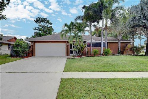 Photo of 614 Azure Avenue, Wellington, FL 33414 (MLS # A11097743)