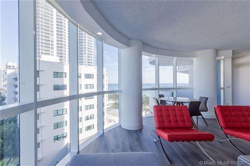 Photo of 6301 Collins Ave #907, Miami Beach, FL 33141 (MLS # A10977744)