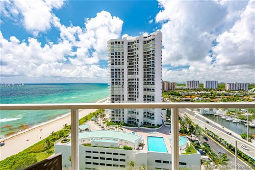 Photo of 16699 Collins Ave #1809, Sunny Isles Beach, FL 33160 (MLS # A10082745)