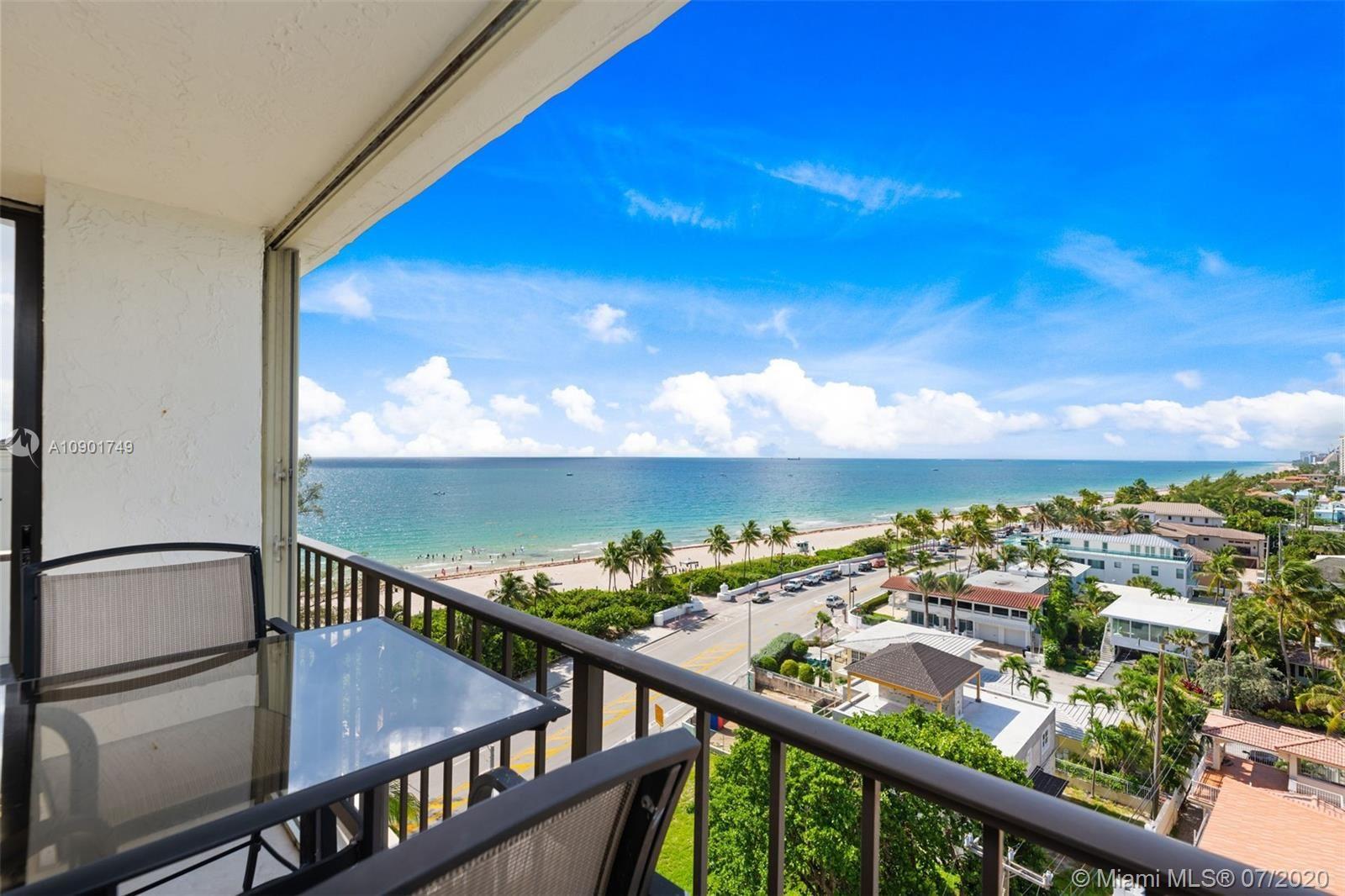 Photo of 1901 N Ocean Blvd #9A, Fort Lauderdale, FL 33305 (MLS # A10901749)