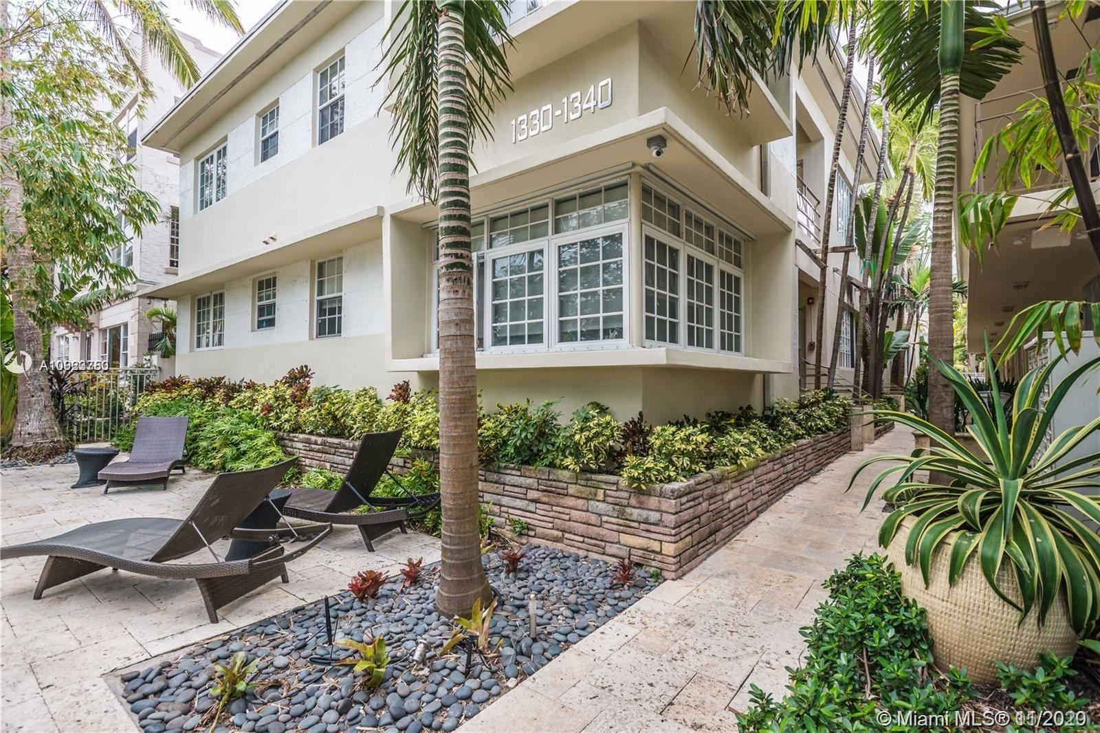 1340 Drexel Ave #305, Miami Beach, FL 33139 - #: A10923750