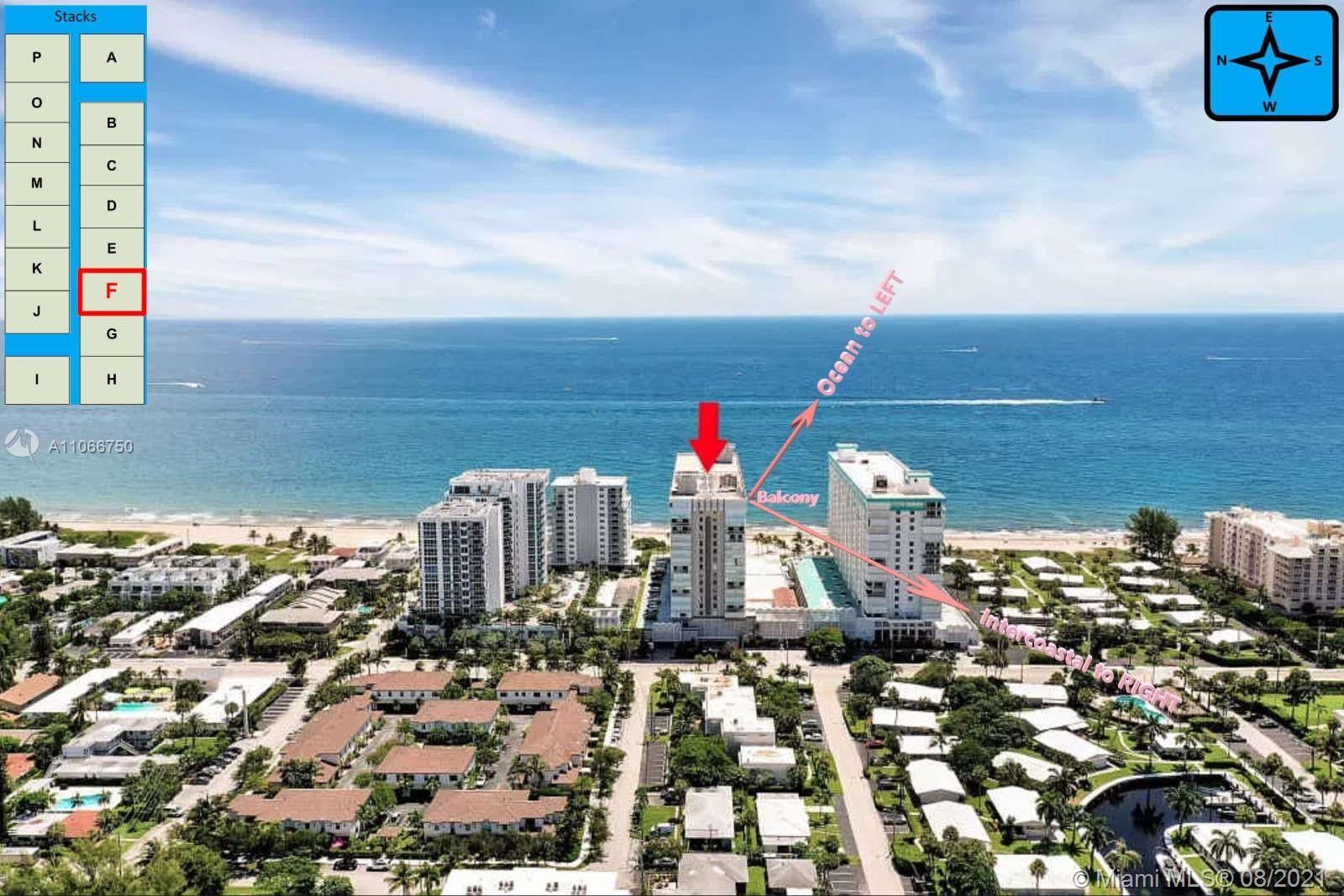 1000 S Ocean Blvd #16F, Pompano Beach, FL 33062 - #: A11066750