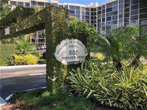 Photo of 600 Parkview Dr #224, Hallandale Beach, FL 33009 (MLS # A11115751)
