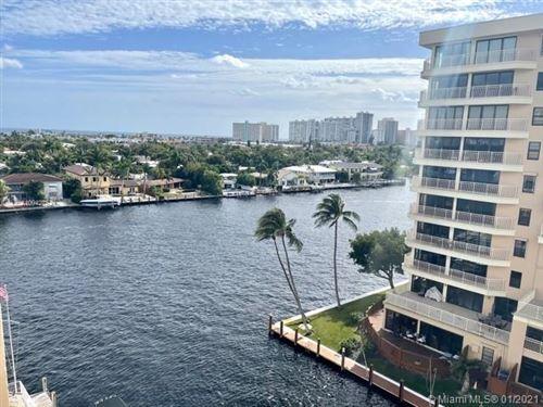 Photo of 3100 NE 49th St #805, Fort Lauderdale, FL 33308 (MLS # A10942752)