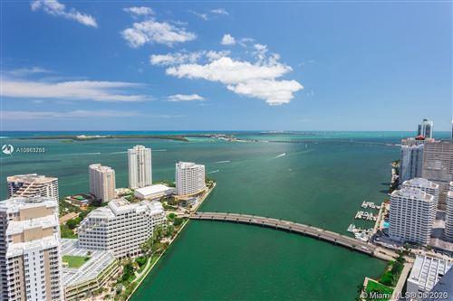 Photo of 495 BRICKELL AV #2702, Miami, FL 33131 (MLS # A10863753)