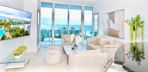 Photo of 100 S Pointe Dr #708, Miami Beach, FL 33139 (MLS # A10944753)