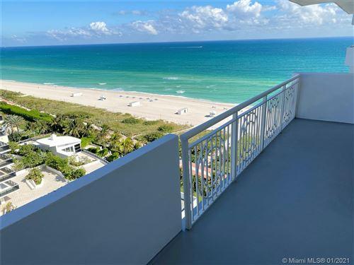 Photo of 5825 Collins Ave #PH1E, Miami Beach, FL 33140 (MLS # A10966753)
