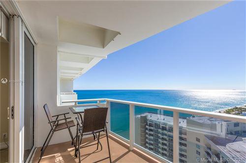 Photo of 3140 S Ocean Dr #PH1, Hallandale Beach, FL 33009 (MLS # A10986753)
