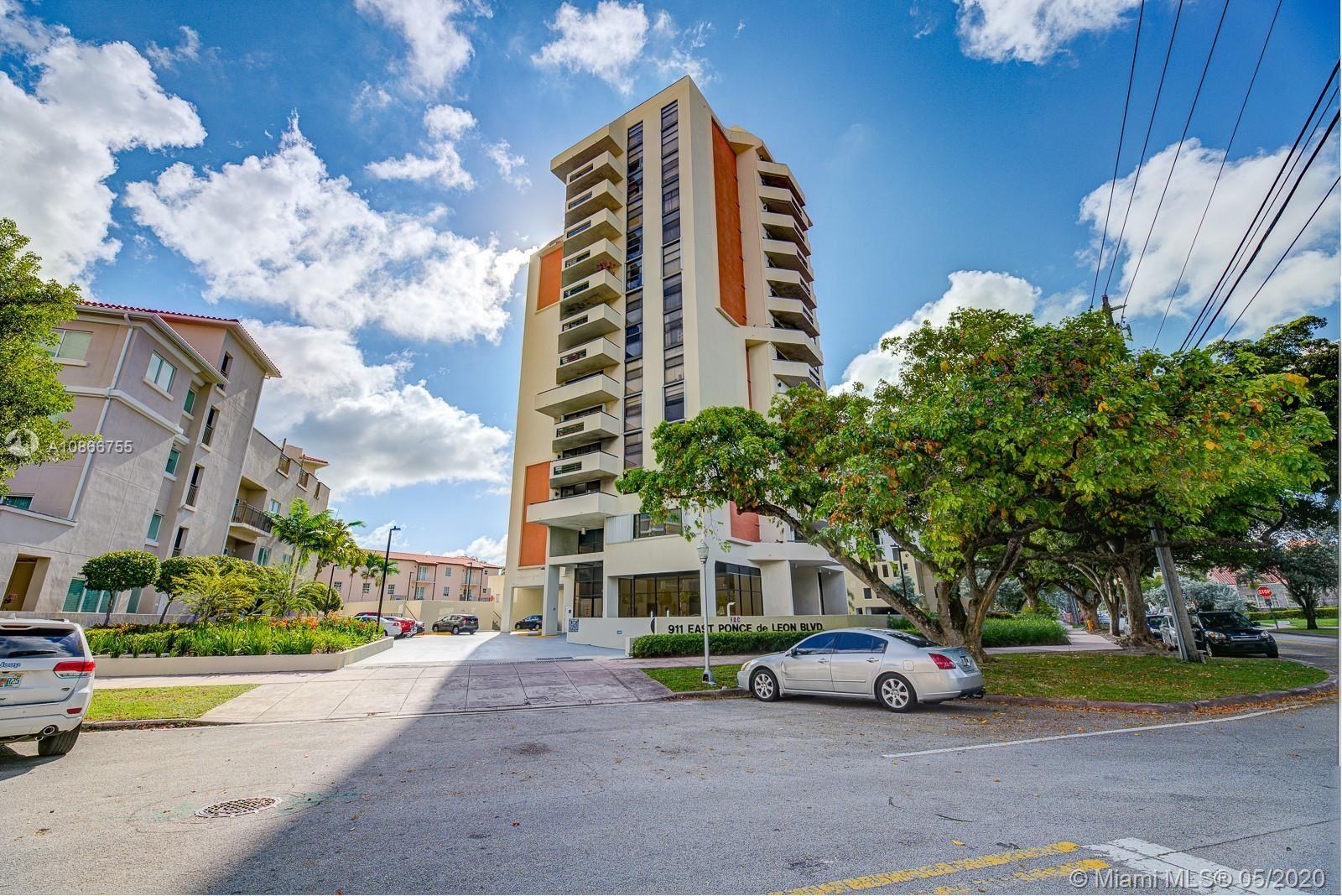 911 E Ponce De Leon Blvd #1104, Coral Gables, FL 33134 - #: A10866755