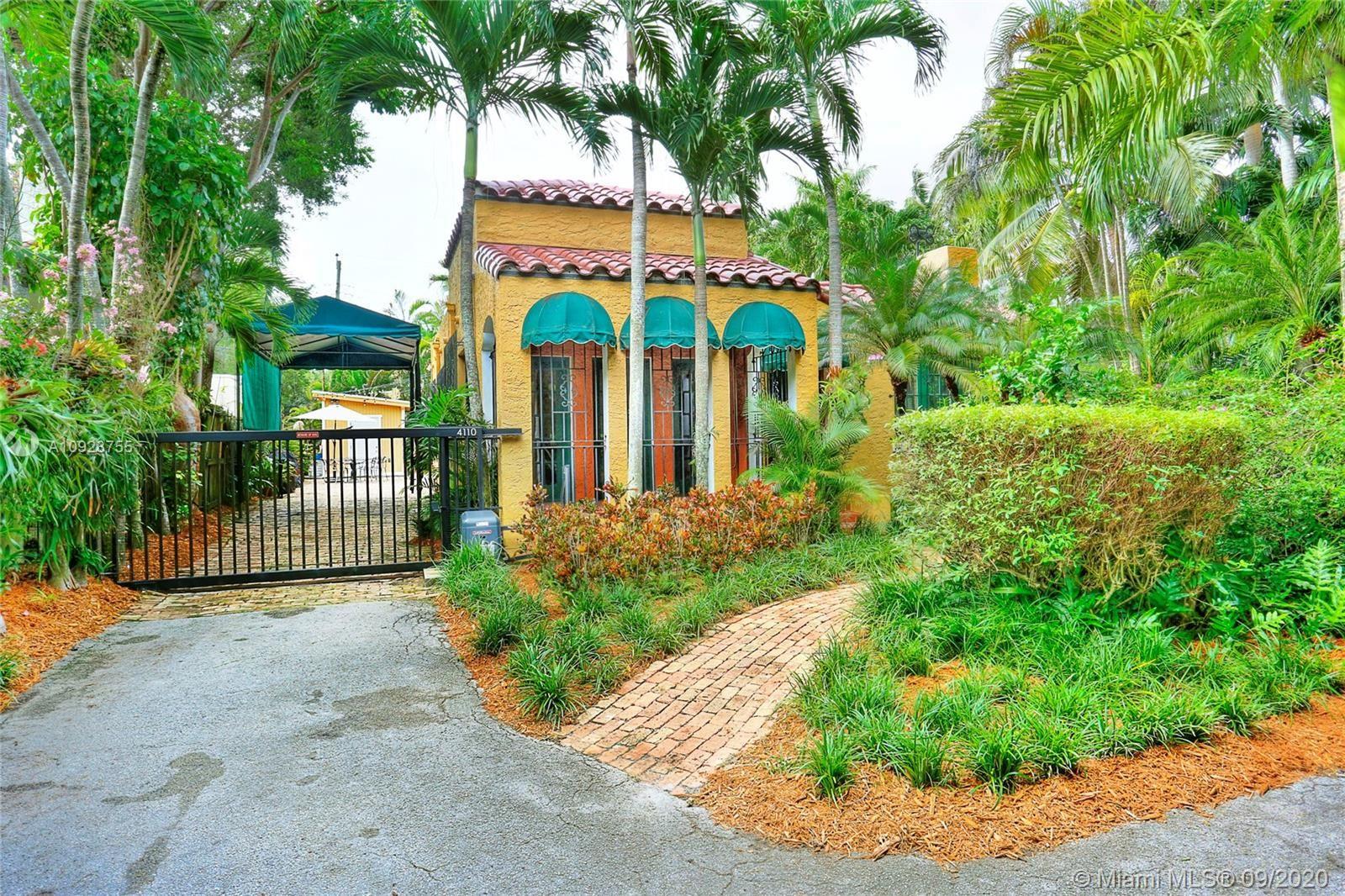 4110 Ventura Ave, Coconut Grove, FL 33133 - #: A10928755