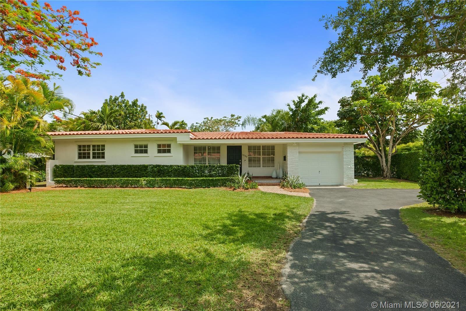1540 Blue Rd, Coral Gables, FL 33146 - #: A11055755