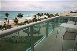 Photo of 3801 S Ocean Dr #4F, Hollywood, FL 33019 (MLS # A10472758)