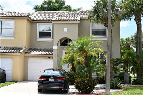 Photo of Listing MLS a10855758 in 1380 NW 154th Ln Pembroke Pines FL 33028
