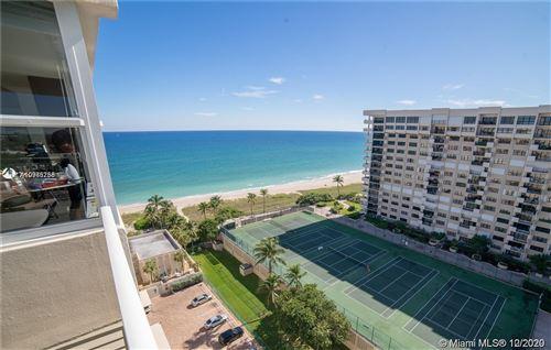 Photo of 5200 N Ocean Blvd #1515, Lauderdale By The Sea, FL 33308 (MLS # A10965758)