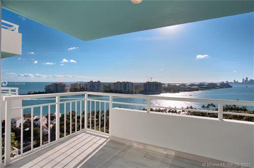 Photo of 400 S Pointe Dr #1601, Miami Beach, FL 33139 (MLS # A11040758)