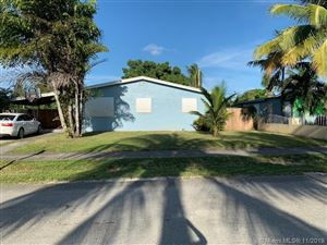 Photo of Listing MLS a10754760 in 4605 SW 32nd Dr West Park FL 33023