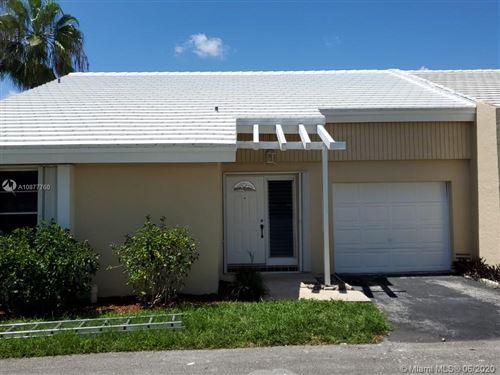 Photo of 10543 La Placida Dr #10543, Coral Springs, FL 33065 (MLS # A10877760)