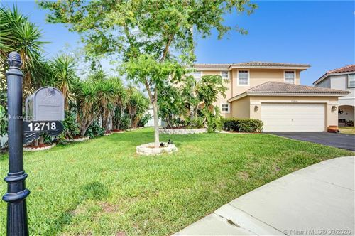 Photo of Listing MLS a10847761 in 12718 NW 11th Pl Sunrise FL 33323