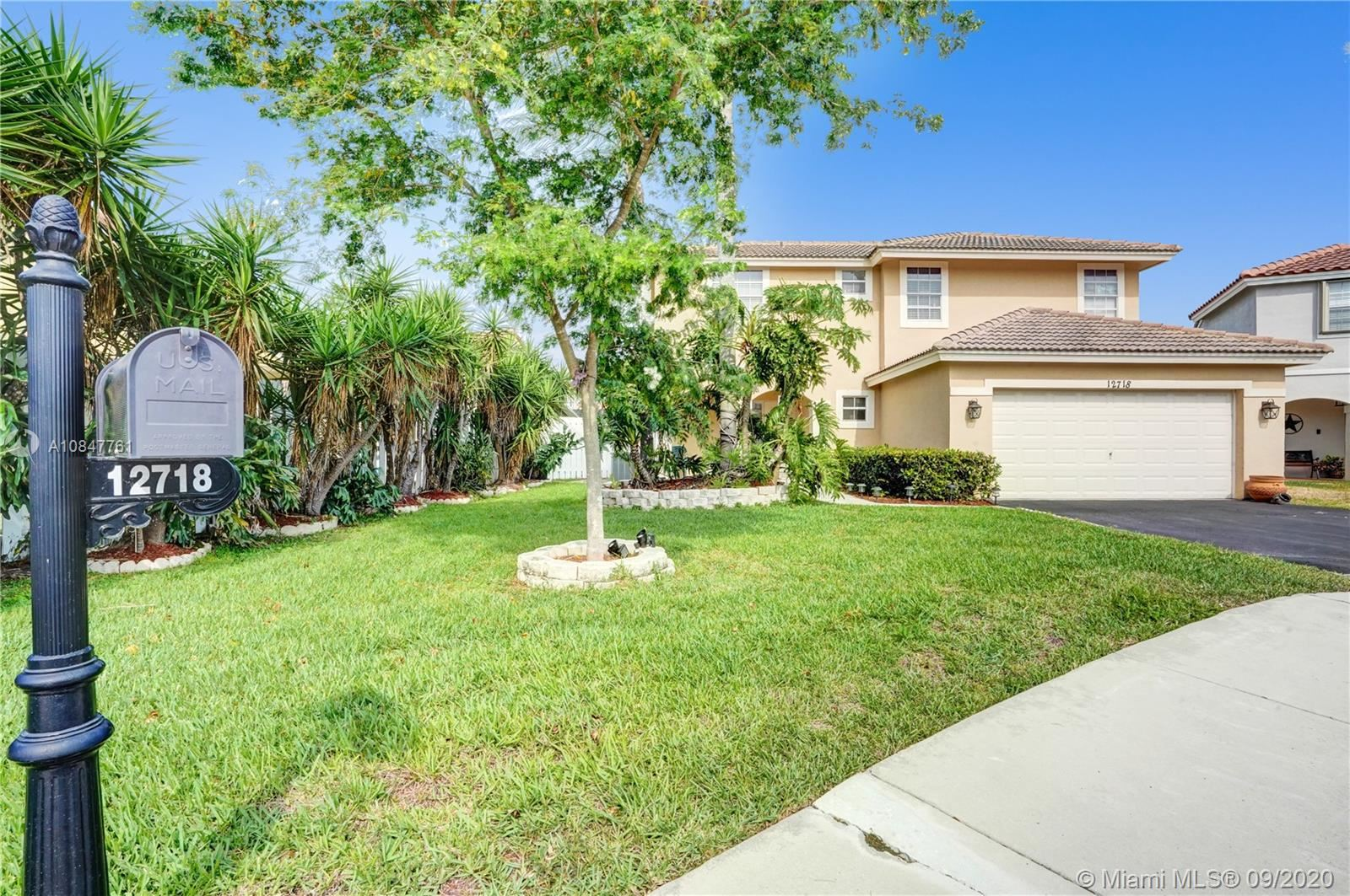 12718 NW 11th Pl, Sunrise, FL 33323 - #: A10847761