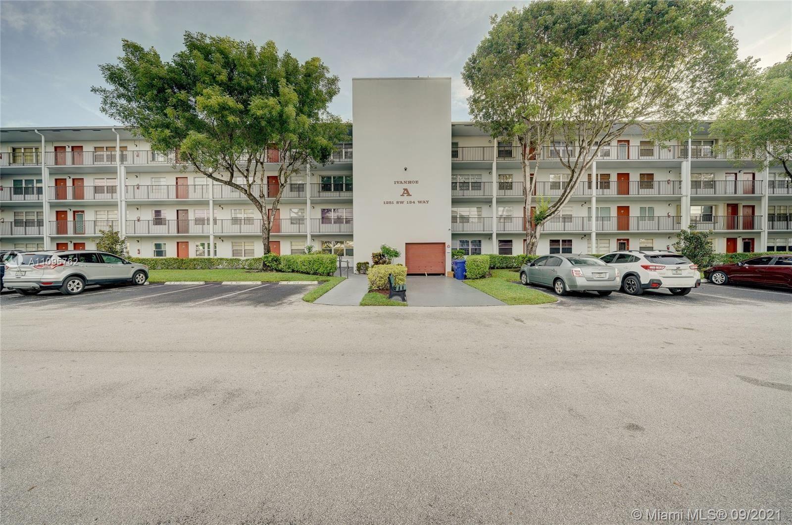 1251 SW 134th Way #410A, Pembroke Pines, FL 33027 - #: A11095762