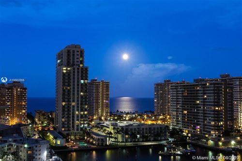 Photo of 137 Golden Isles Dr #1008, Hallandale Beach, FL 33009 (MLS # A10882764)