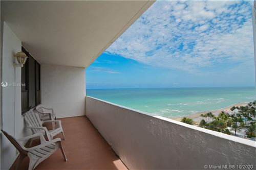 Photo of 3505 S Ocean Dr #1416, Hollywood, FL 33019 (MLS # A10945765)