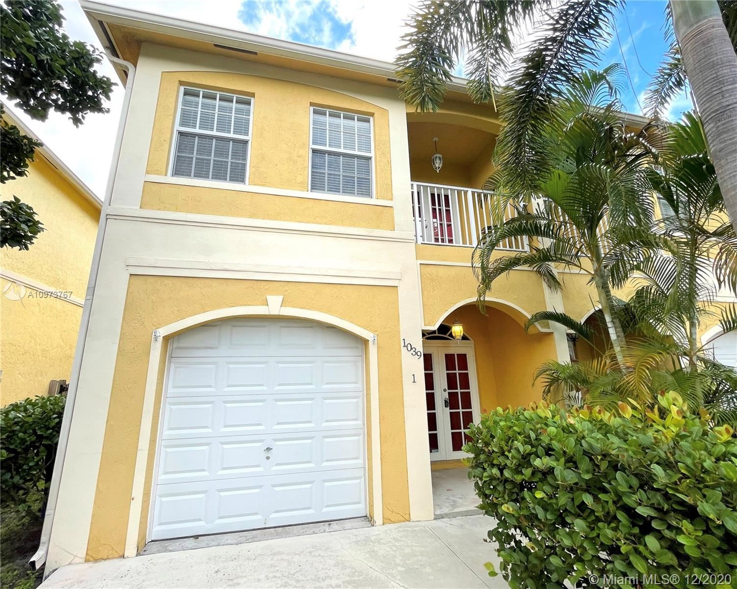 1039 NW 7th Ter #1, Fort Lauderdale, FL 33311 - #: A10973767