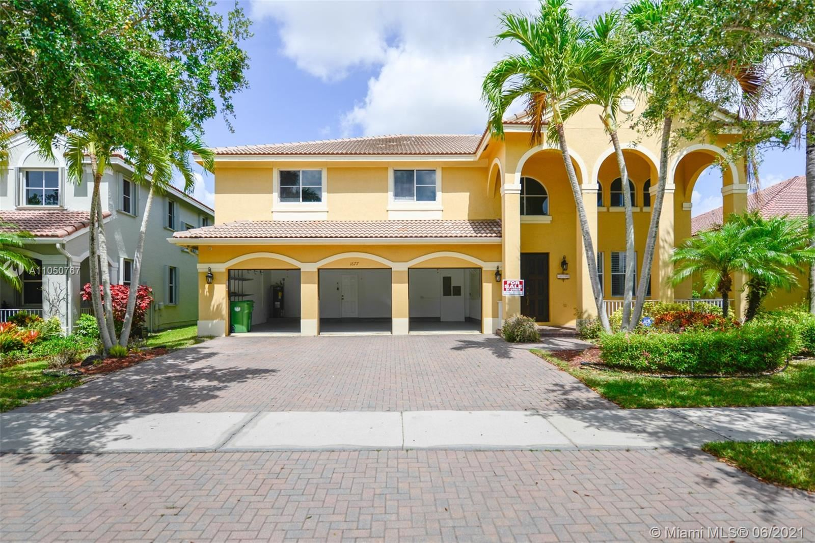 1677 NE Osprey Bnd, Weston, FL 33327 - #: A11050767